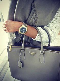 The Always-Classy Prada bag.