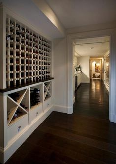 Built In Wine Racks, Transitional, basement, Nantucket Architecture Group
