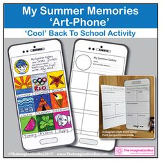 Back to School Art & Creative Writing Activity 'My Summer
