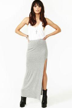 Casual High Slit Maxi Dress - Slit Maxi Tube Dress For Women Maxi Dress With Slit, Tube Dress, Dress Skirt, Dress Up, Alternative Outfits, Love Fashion, Fashion Outfits, Womens Fashion, Skirt Tutorial