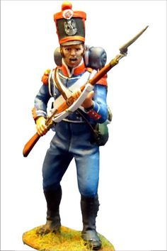 NP 300 FRENCH LIGHT INFANTRY CARABINIERS 1815 , STANDING 2