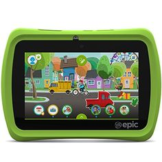 Discover the first tablet experience that kids can create as they play, for endless possibilities that grow with your child. Designed specifically for kids ages 3-9 years old, the LeapFrog Epic tablet offers powerful features and a one-of-a-kind world for exploration, play and learning.