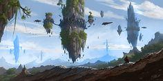 Fantasy Worlds by Frank Att