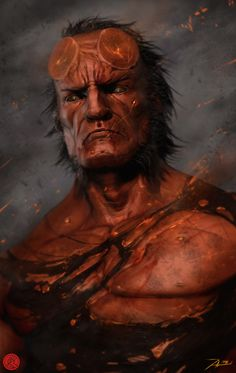 Hellboy by Adnan Ali *
