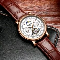 Amazing Watches, Best Watches For Men, Cool Watches, Cheap Mens Watches, Men's Watches, Mens Gadgets, Tourbillon Watch, Skeleton Watches, Smiling Faces