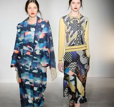 Print collages @ Basso & Brooke Fall '13