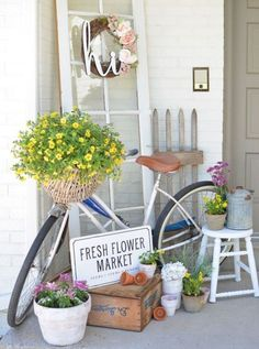 ✓ 75 Rustic Farmhouse Front Porch Decorating Ideas - We have now some concepts for simple and reasonably priced vintage farmhouse decor, you may wish to perceive the place it's attainable to search out these items. Modern Farmhouse Porch, Farmhouse Front Porches, Farmhouse Style, Farmhouse Decor, Farmhouse Design, Modern Rustic, Farmhouse Ideas, Rustic Decor, Vintage Decor