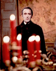 "Christopher Lee in ""Scars of Dracula"" (1970)"