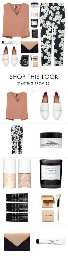 """bells"" by martosaur ❤ liked on Polyvore featuring Topshop, Erdem, philosophy, Uslu Airlines, Byredo, Monki, Bobbi Brown Cosmetics and Eos"