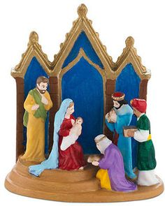 Department 56 Christmas in the City - Nativity Collectible Figurine on shopstyle.com