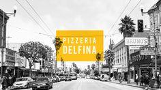 Pizzeria Delfina branding. Designed by CharacterSF