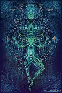 psychedelic Psychedelic art flower of life sacred geometry Metatrons Cube Mandala Nature, Flower Mandala, Sacred Geometry Art, Sacred Art, Geometry Tattoo, Psychedelic Art, Psychedelic Experience, Image Mandala, Psy Art