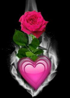 Unique Wallpaper, Heart Wallpaper, Pretty Wallpapers, Cellphone Wallpaper, Flower Wallpaper, Beautiful Rose Flowers, Love Rose, Love Flowers, Valentines Day Messages