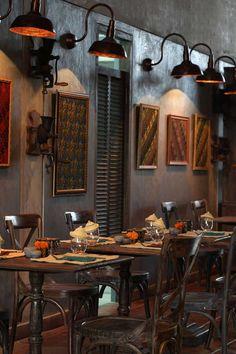 Loving the moody, Balinese-vintage vibe at Petani Restaurant in Alaya Ubud #Indistay   Bali, Indonesia