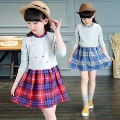 $32.20 (Buy here: https://alitems.com/g/1e8d114494ebda23ff8b16525dc3e8/?i=5&ulp=https%3A%2F%2Fwww.aliexpress.com%2Fitem%2FCute-Baby-Girls-Dress-Plaid-Baby-Girls-Dress-Designs-2016-New-Arrival-Fashion-Cotton-Girls-Dress%2F32714679427.html ) Cute Baby Girls Dress Plaid Baby Girls Dress Designs 2016 New Arrival Fashion Cotton Girls Dress Long Sleeve Kids Clothing for just $32.20