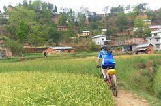 Kathmandu Valley Single Track Mountain Bike Tour This amazing mountain bike tour caters to all levels of  riders and not only gives you the joy of riding through some beautiful locations but also  takes you to the ancient temple and sacred sites of Budhanilkantha. The tour also showcases stunning panoramas of the Himalayas and will take you to explore jungles,  National Parks and across many kilometers of rice fields and local villages. If you love biking then explore the viva...
