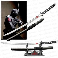 GI JOE - Snake Eyes Katana Sword Replica - Rise of Cobra