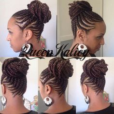 Queen Kalicy up do