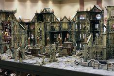 Gothic city terrain