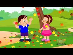 ▶ Falling Leaves - Nursery Rhyme with Lyrics & Sing Along - YouTube