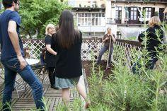 Consulenza per realizzazione di orto pensile. #agridea #gardenpink www.coopagridea.org