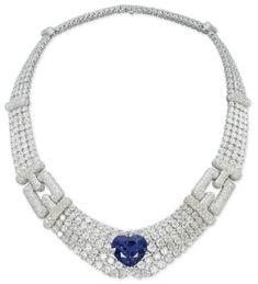 Cartier necklace via Christie's ♥