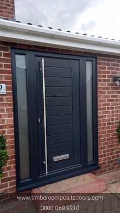 ⭐ ⭐ How Great does this Solidor Palermo Timber Composite Door look ? Design, price and order your perfect door online instantly! Timber Composite Doors are the UKs Solidor Supplier and installer! All Doors come with Finance available Blue Front Door, Doors, Summer Front Door Wreath, Contemporary Front Doors, Front Door Canopy, External Doors, House Entrance, Porch Designs Uk, Composite Front Door