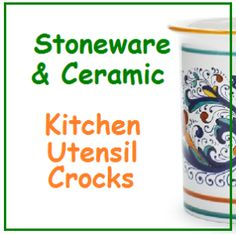 Best Kitchen Utensil Crock - Stoneware and Ceramic utensil holder. Find a big selection of the best kitchen utensil crock holder on sale, coupons and deals. Kitchen Utensil Crock, Kitchen Utensils, Lime Green Kitchen, Ceramic Utensil Holder, Cool Kitchens, Stoneware, Ceramics, Mugs, Tableware