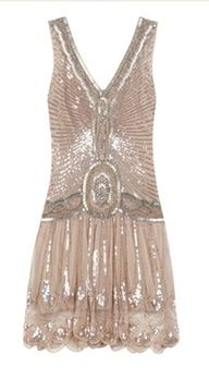 1920 flapper dress. If only I had some place to wear it. A party at Gatsby's maybe?
