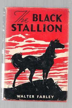 The Black Stallion 1941 Walter Farley HCDJ Random House Later Printing NICE! | eBay