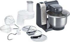 Bosch MUM48A1 – Robot de cocina, plata, antracita | Chulazo de Chollazo