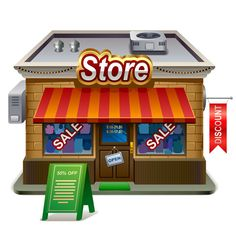 retail store illustration