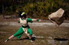Avatar: The Last Airbender anime-cosplay Avatar Costumes, Epic Costumes, Cosplay Costumes, Halloween Costumes, Avatar Aang, Team Avatar, Avatar The Last Airbender, Toph Cosplay, Cosplay Outfits