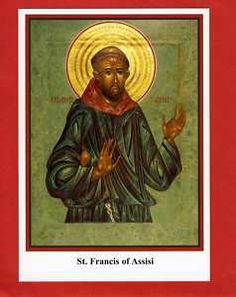 St Francis of Assisi, Patron Saint of Animals, Religious Holy Card