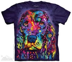 New The Mountain Russo Cocker Spaniel T Shirt
