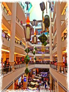 Located at the base of the PETRONAS Twin Towers, the Suria KLCC is one of KL's best malls.