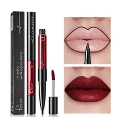 Pudaier Brand New Matte Liquid Lipstick 26 Colors Waterproof Velvet Nude Purple Black Red Lip Tint Soft Lipgloss Lips Cosmetics To Suit The PeopleS Convenience Beauty & Health Lip Gloss