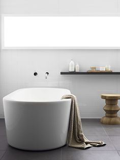 simple and timeless Shower Panels, Home, Modern Bathroom, Bathroom Space, Bathroom Decor, Bathroom Renos, White Wall Tiles, Large Tile, Main Bathroom