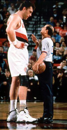 Classic Sabonis, Blazers Basketball