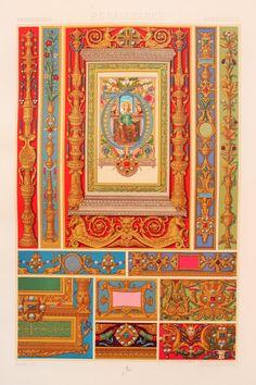 Renaissance Decorative Ornament Illuminated by PaperPopinjay