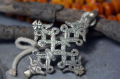 Decorated in a great and beautiful lines Ethiopian Coptic cross made from MIx Metals (Nickel and Old silver) from Addis Ababa The Capital of Africa .  #Orthodox #Ethiopian #Christian #Coptic #Cross #Pendant #Handmade #Ethnic #Ebay
