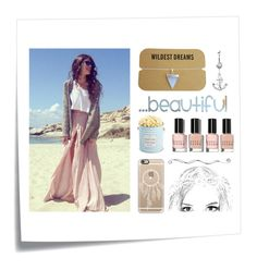 """""""Wildest Dreams"""" by amanda2002-608 ❤ liked on Polyvore featuring Post-It, The Hampton Popcorn Company, Bobbi Brown Cosmetics and Casetify"""