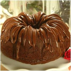 Rich Chocolate Pound Cake you have to add cocoa and extra milk very dry without doing this
