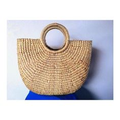 Straw Bag Summer Market Bags Hand bags Boho Totes Beach Bags burlap... ❤ liked on Polyvore featuring bags, handbags, tote bags, burlap tote, handbags totes, summer tote bags, beach bag and straw tote bags