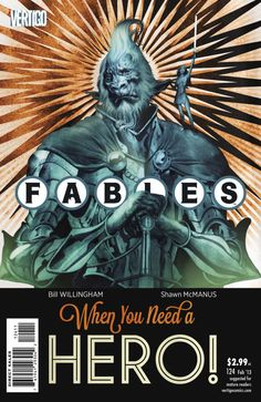 Fables #124. Cover by Joao Ruas.