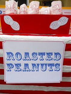 Circus Concession Stand Peanut Station