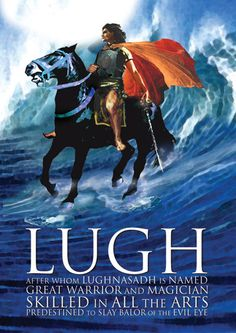 Lugh - Tales from Irish Mythology Celtic Paganism, Celtic Mythology, Wiccan, Witchcraft, Loki, Thor, Symbole Viking, Carlin, Celtic Culture