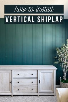 Tips and tricks for how to install vertical shiplap Diy Home Decor Projects, Home Decor Furniture, Wood Plank Walls, Woodworking Projects Diy, Woodworking Plans, Diy Fireplace, Ship Lap Walls, Farmhouse Style Decorating, Diy Home Improvement