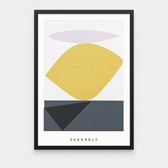 Vasarely: Souzon Framed Print | MoMA