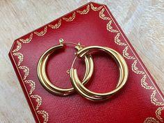 12.8€ Free Shipping Carat Gold, Plaque, Venus, Jewel, Plating, Etsy, Paris, Free Shipping, Boucle D'oreille